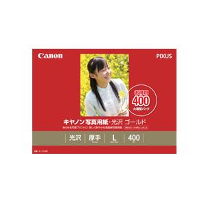 【代引き手数料無料!】 《新品アクセサリー》 Canon 写真用紙・光沢 ゴールド L判 400枚 (GL-101L400)【KK9N0D18P】