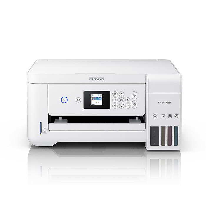 《新品アクセサリー》EPSON(エプソン) A4カラー複合プリンター EW-M571TW ホワイト【KK9N0D18P】