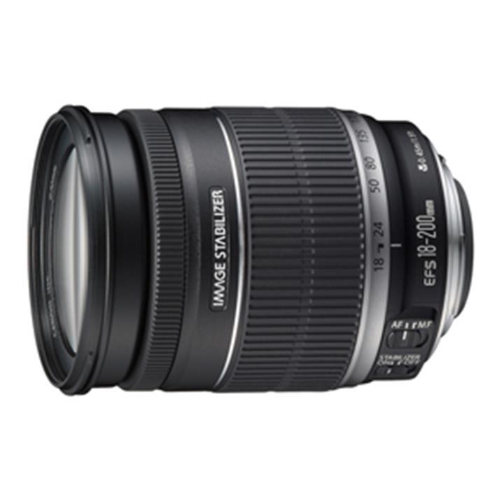 《新品》 Canon(キヤノン) EF-S 18-200mm F3.5-5.6 IS[ Lens | 交換レンズ ]〔レンズフード別売〕【KK9N0D18P】