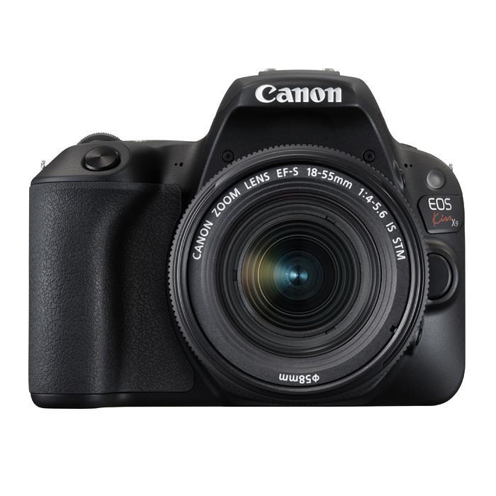 《新品》 Canon(キヤノン) EOS Kiss X9 EF-S18-55 F4 STM レンズキット ブラック[ デジタル一眼レフカメラ | デジタル一眼カメラ | デジタルカメラ ]【KK9N0D18P】