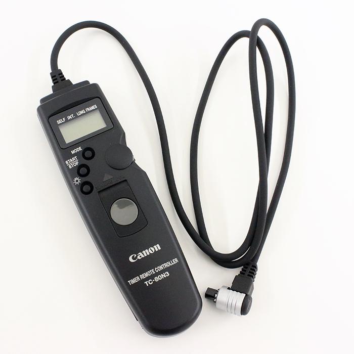 《新品アクセサリー》 Canon(キヤノン) タイマーリモートコントローラーTC-80N3【KK9N0D18P】
