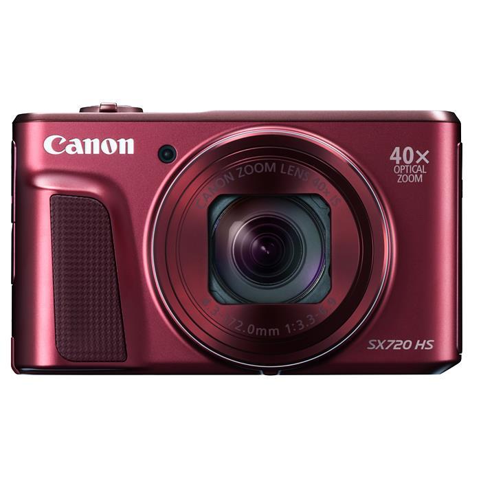 《新品》 Canon(キヤノン) PowerShot SX720 HS レッド[ コンパクトデジタルカメラ ]【KK9N0D18P】