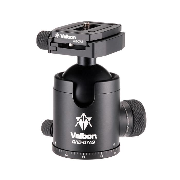 《新品アクセサリー》 Velbon (ベルボン) 高精度自由雲台 QHD-G7AS 【KK9N0D18P】