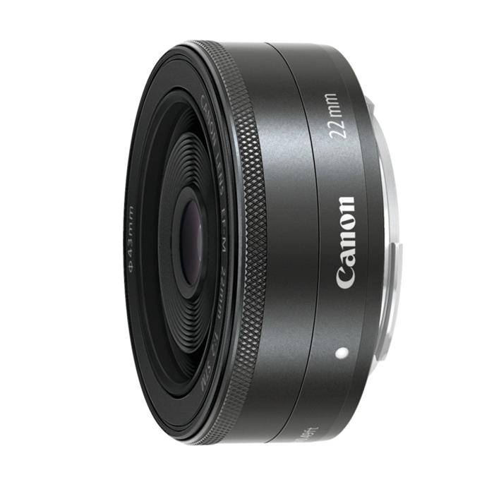 《新品》 Canon(キヤノン) EF-M22mm F2 STM ブラック[ Lens | 交換レンズ ]〔レンズフード別売〕【KK9N0D18P】
