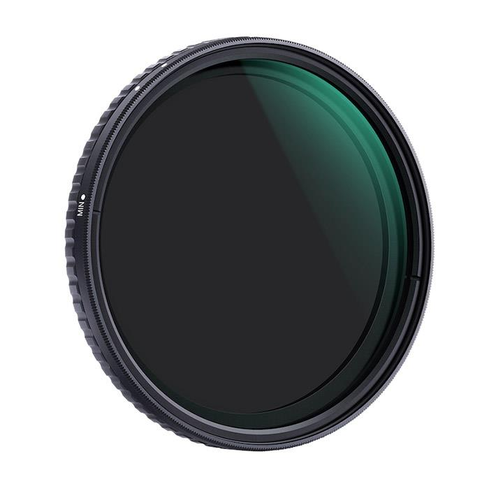 《新品アクセサリー》 K&F Concept(ケーアンドエフ・コンセプト) NANO-X バリアブルNDフィルター 72mm KF-72NDX8-128【KK9N0D18P】