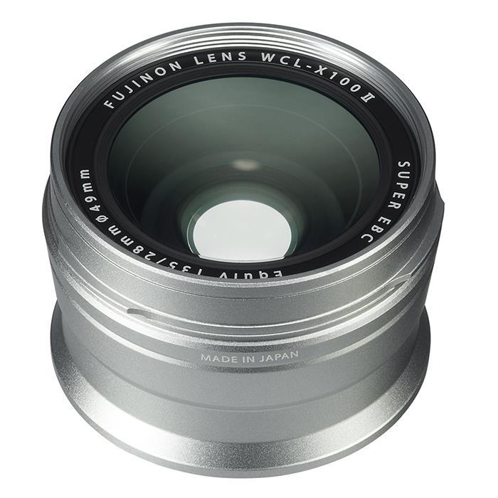 《新品アクセサリー》 FUJIFILM (フジフィルム) ワイドコンバージョンレンズ WCL-X100 II シルバー【KK9N0D18P】
