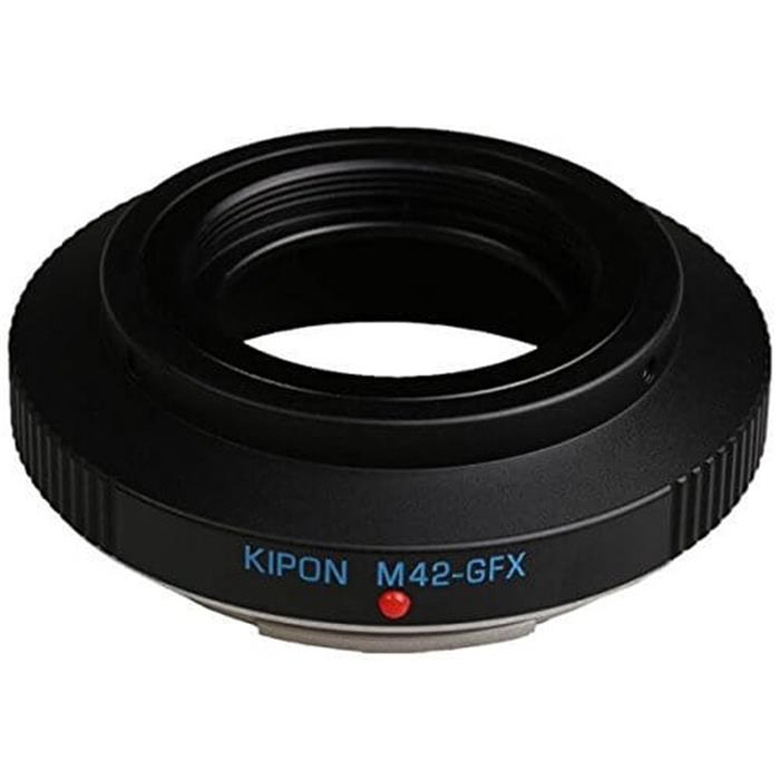 《新品》 KIPON (キポン) マウントアダプター M42レンズ/フジフイルムGFXボディ用【KK9N0D18P】