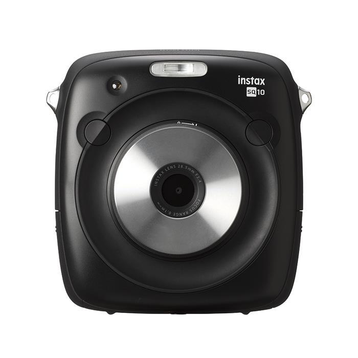 《新品》FUJIFILM (フジフイルム) ハイブリッドインスタントカメラ instax SQUARE SQ10 ブラック【KK9N0D18P】