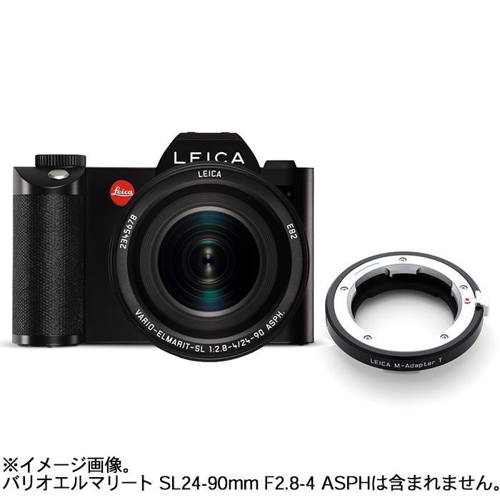 《新品》 Leica (ライカ) SL(Typ601)+純正Mレンズアダプター ライカMレンズ/ライカSLTLボディ用 ブラック セット 〔マップカメラオリジナルセット〕【期間限定~8/31まで数量限定】【対象レンズとともにお求めの場合ギフトカードプレゼントキャンペーン対象】