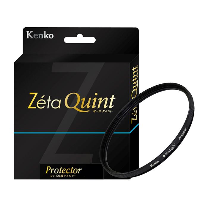 《新品アクセサリー》 Kenko (ケンコー) Zeta Quint プロテクター 77mm【KK9N0D18P】