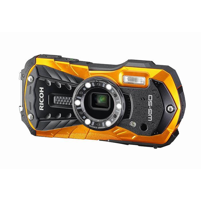 《新品》 RICOH (リコー) WG-50 オレンジ [ コンパクトデジタルカメラ ]【KK9N0D18P】