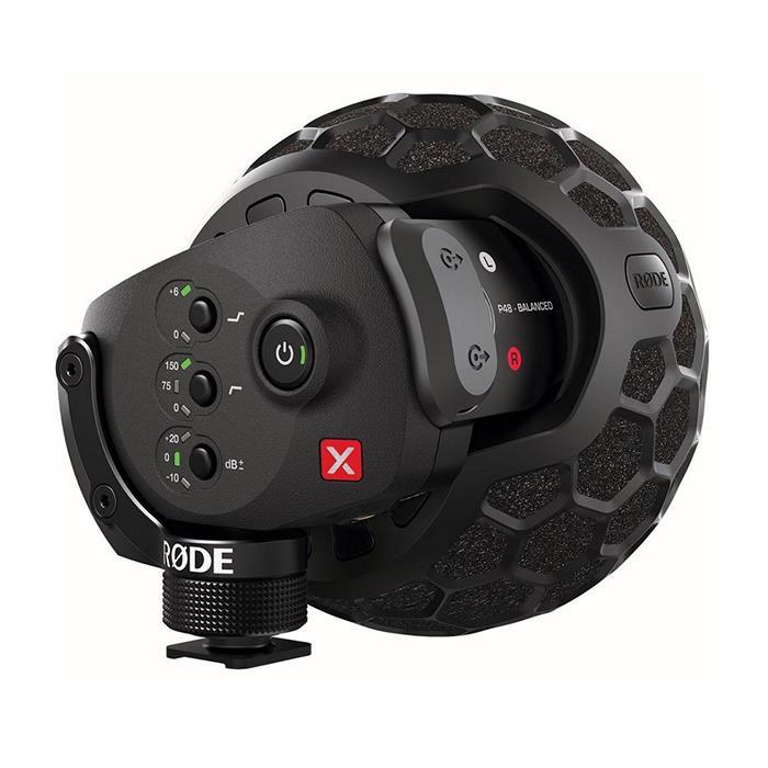 《新品アクセサリー》 RODE(ロード) Stereo VideoMic X(XLR端子ファンタム給電/9V乾電池兼用)【KK9N0D18P】