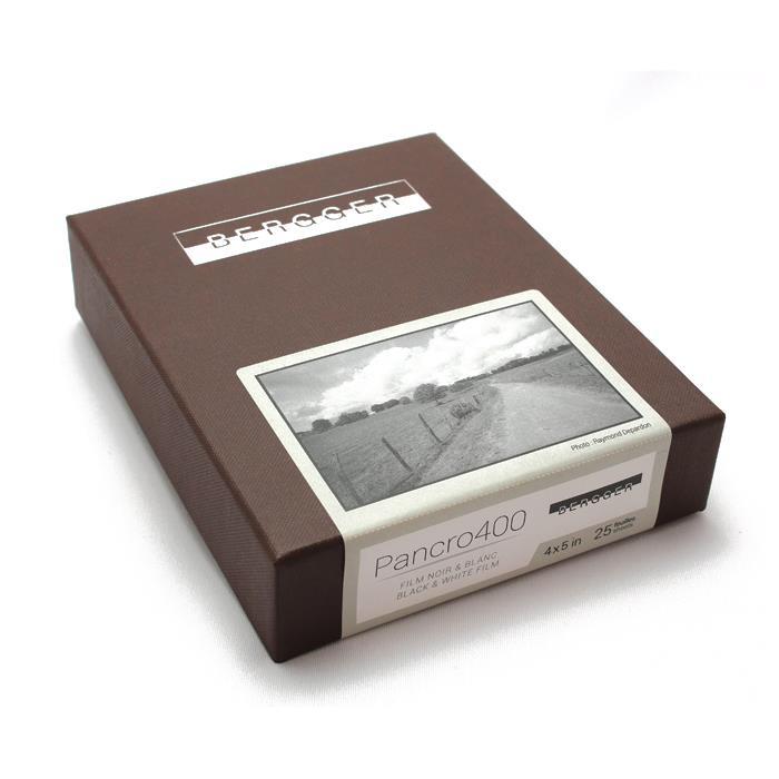 《新品アクセサリー》Bergger (ベルゲール) Pancro 400 - 4x5 inch / 25シート〔メーカー取寄品〕【KK9N0D18P】