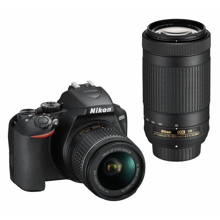 《新品》 Nikon(ニコン) D3500 ダブルズームキット[ デジタル一眼レフカメラ | デジタル一眼カメラ | デジタルカメラ ]【KK9N0D18P】