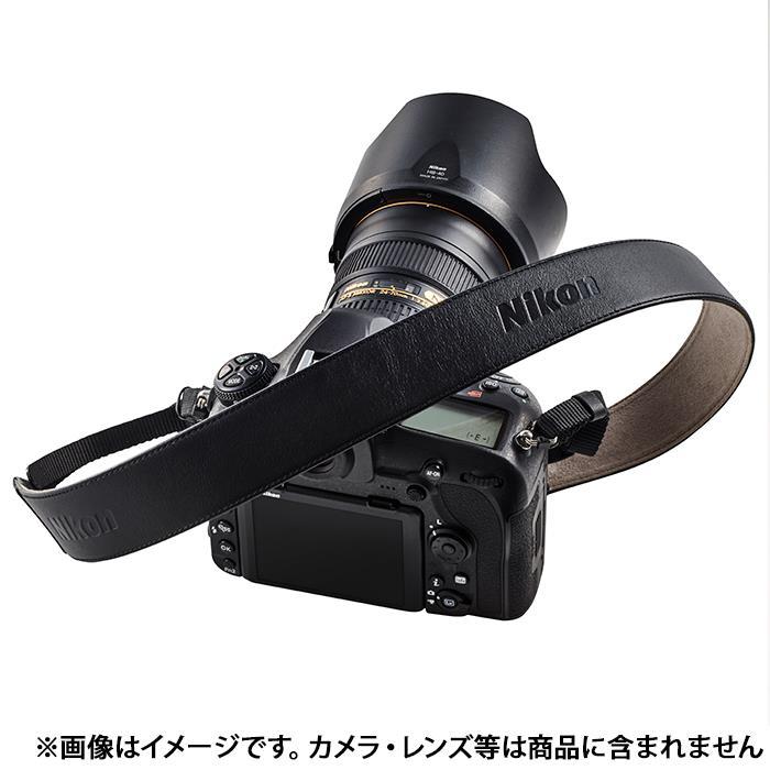 《新品アクセサリー》 Nikon (ニコン) スタンダードレザーストラップ STD-LST BK ブラック 【KK9N0D18P】 [ ストラップ ]