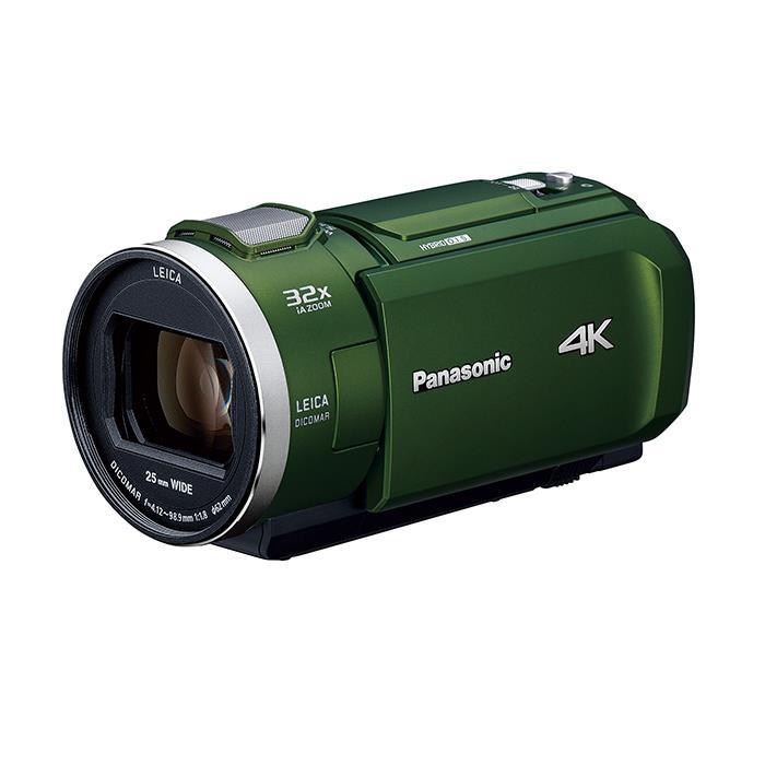 《新品》 Panasonic (パナソニック) デジタル4Kビデオカメラ HC-VX2M フォレストカーキ [ ビデオカメラ ]【KK9N0D18P】