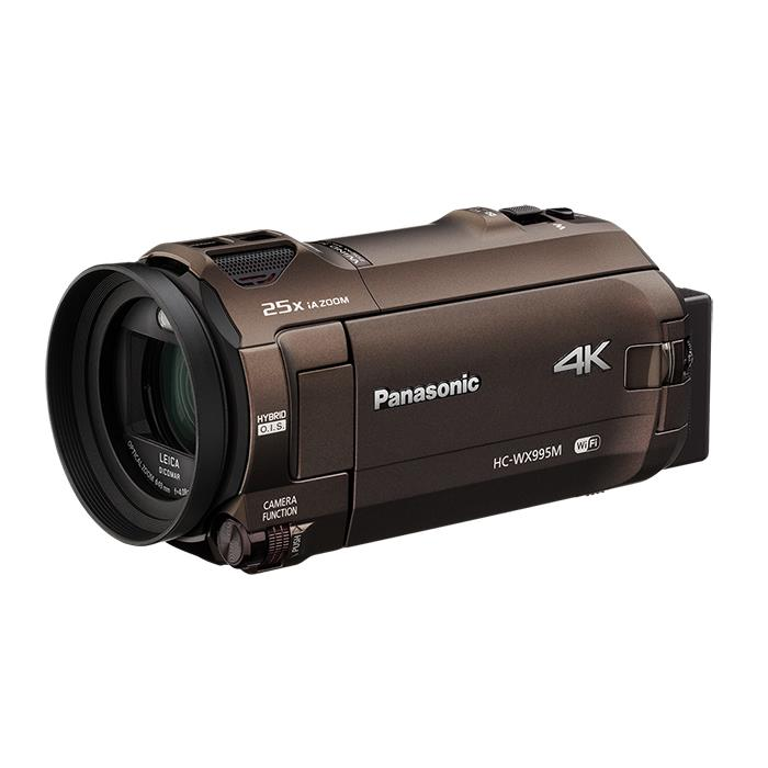 《新品》Panasonic (パナソニック) デジタルハイビジョンビデオカメラ HC-WX995M ブラウン[ ビデオカメラ ]【KK9N0D18P】