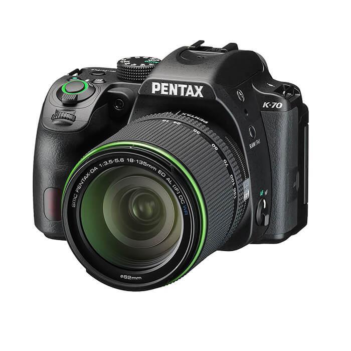 《新品》 PENTAX (ペンタックス) K-70 18-135WR レンズキット ブラック [ デジタル一眼レフカメラ | デジタル一眼カメラ | デジタルカメラ ]【KK9N0D18P】