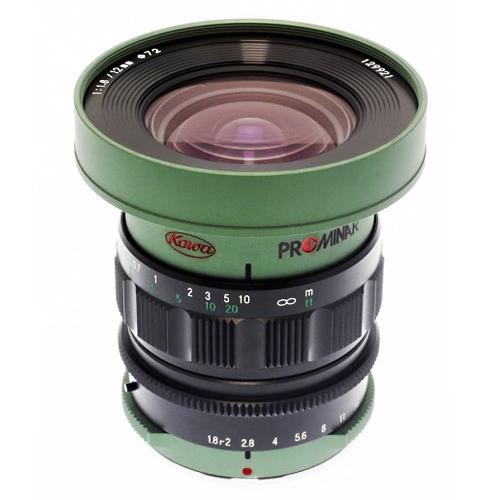 《新品》 KOWA (コーワ) PROMINAR 12mm F1.8(マイクロフォーサーズ用) グリーン[ Lens   交換レンズ ]〔メーカー取寄品〕 【KK9N0D18P】