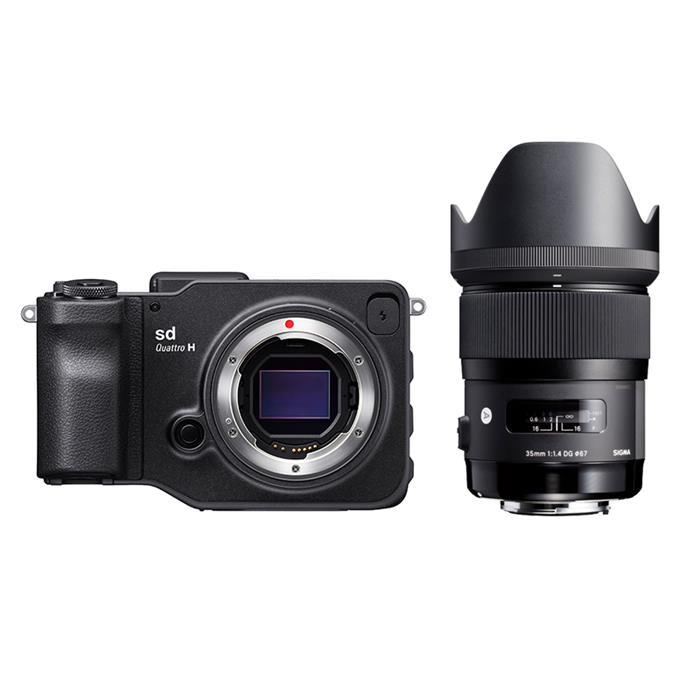 《新品》SIGMA (シグマ) sd Quattro H A 35mm F1.4 DG HSM レンズキット[ ミラーレス一眼カメラ | デジタル一眼カメラ | デジタルカメラ ] 【KK9N0D18P】