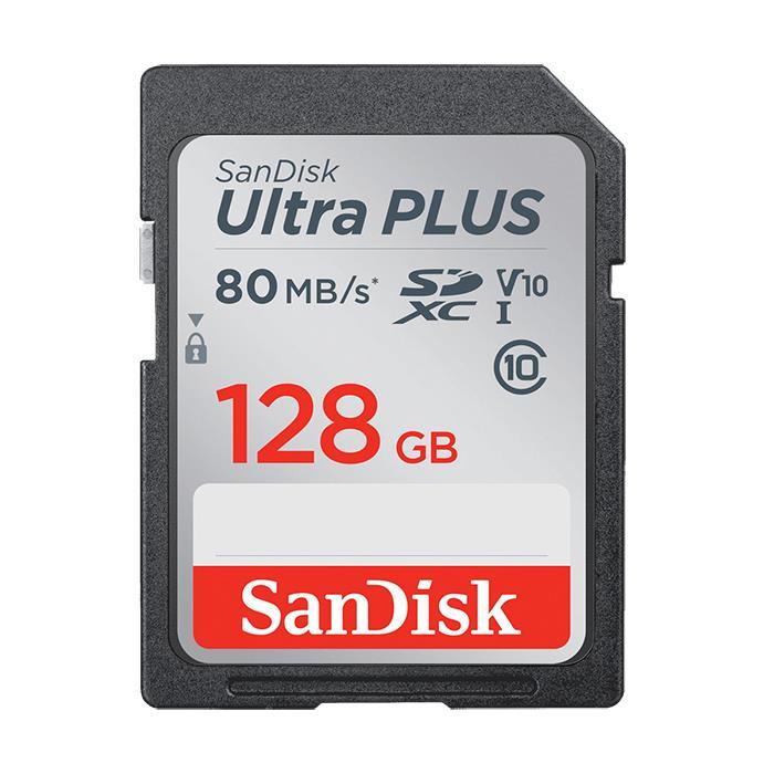 《新品アクセサリー》 SanDisk (サンディスク) UltraPLUS SDXCカード UHS-I 128GB SDSDUWC-128G-JNJIN 【KK9N0D18P】
