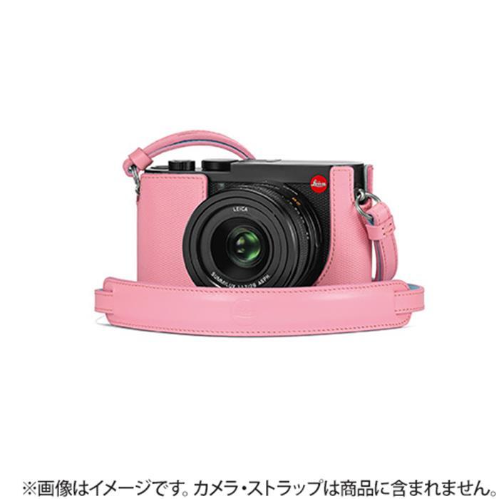 《新品アクセサリー》Leica (ライカ) Q2用 レザープロテクター ピンク 発売予定日:2019年5月【KK9N0D18P】