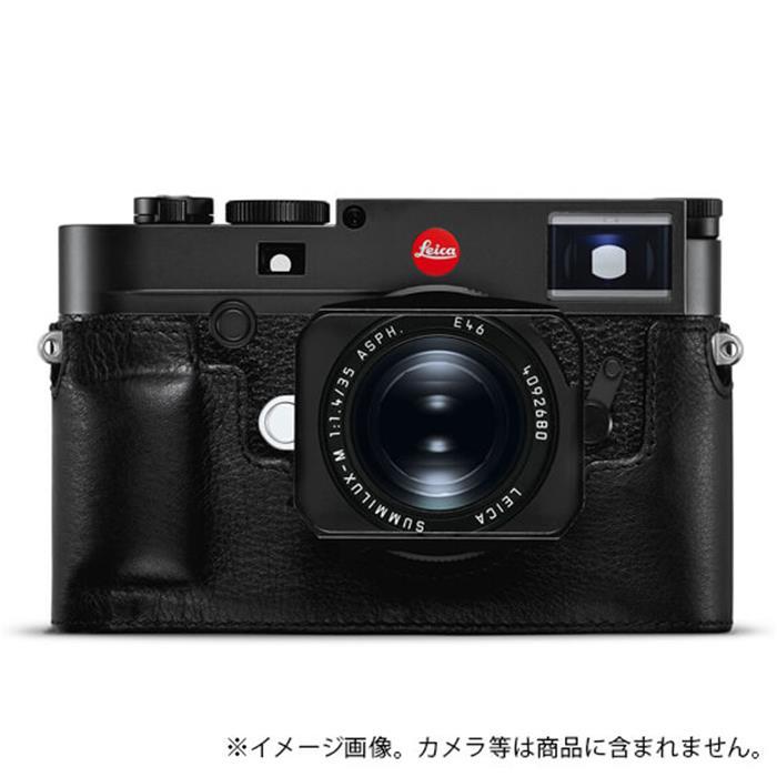 《新品アクセサリー》 Leica (ライカ) M10用 レザープロテクター ブラック 対応機種: M10 【KK9N0D18P】