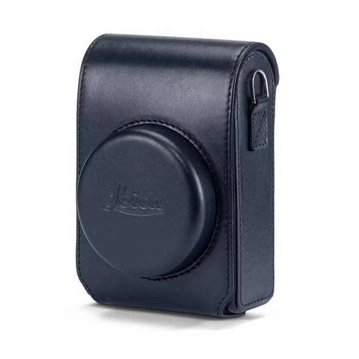 《新品アクセサリー》 Leica (ライカ) C-LUX用 レザーケース ブルー 【KK9N0D18P】