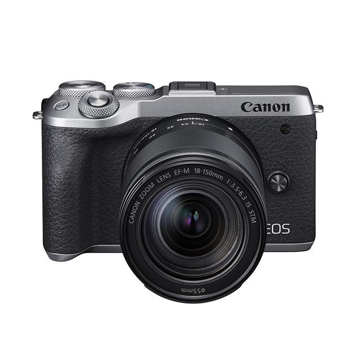 《新品》 Canon (キヤノン) EOS M6 Mark II EF-M18-150 IS STMレンズキット シルバー【KK9N0D18P】【¥20,000-キャッシュバック対象】