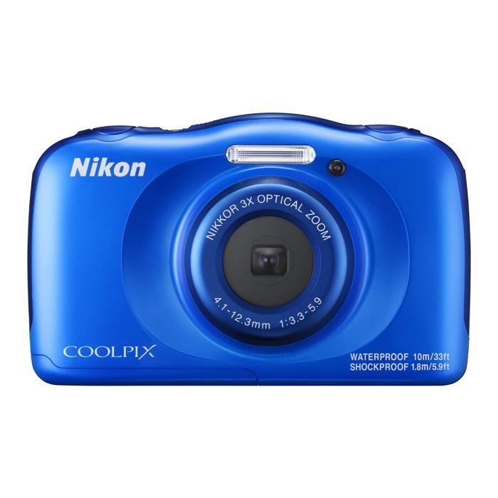 《新品》 Nikon(ニコン) COOLPIX W100 ブルー [ コンパクトデジタルカメラ ]【KK9N0D18P】※お一人様1点限り
