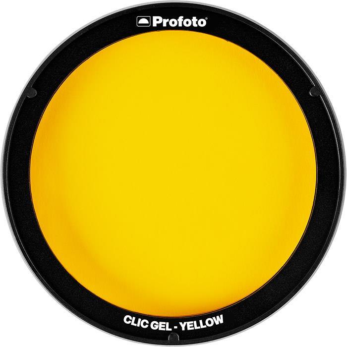《新品アクセサリー》 Profoto (プロフォト) Clic カラーフィルター イエロー #101016【KK9N0D18P】