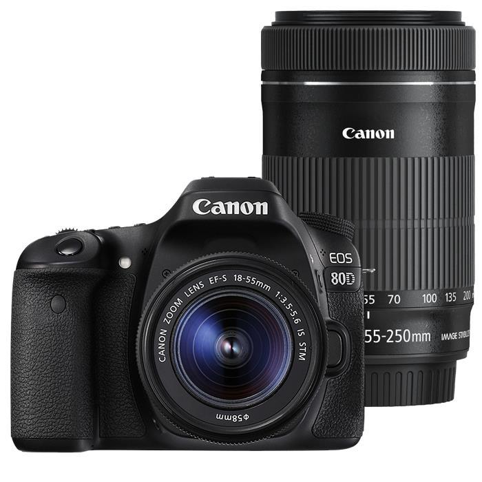 《新品》 Canon(キヤノン) EOS 80D ダブルズームキット [ デジタル一眼レフカメラ | デジタル一眼カメラ | デジタルカメラ ]【KK9N0D18P】