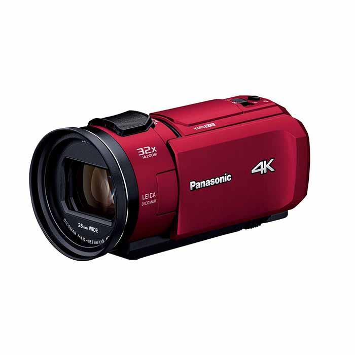 《新品》Panasonic (パナソニック) デジタル4Kビデオカメラ HC-VX1M レッド[ ビデオカメラ ]【KK9N0D18P】, ブランカスタ bebc1fe4