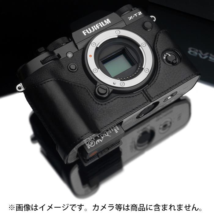 《新品アクセサリー》 GARIZ(ゲリズ) フジフイルム X-T2用ケース XS-CHXT2BK(レリーズボタン付き) ブラック【KK9N0D18P】