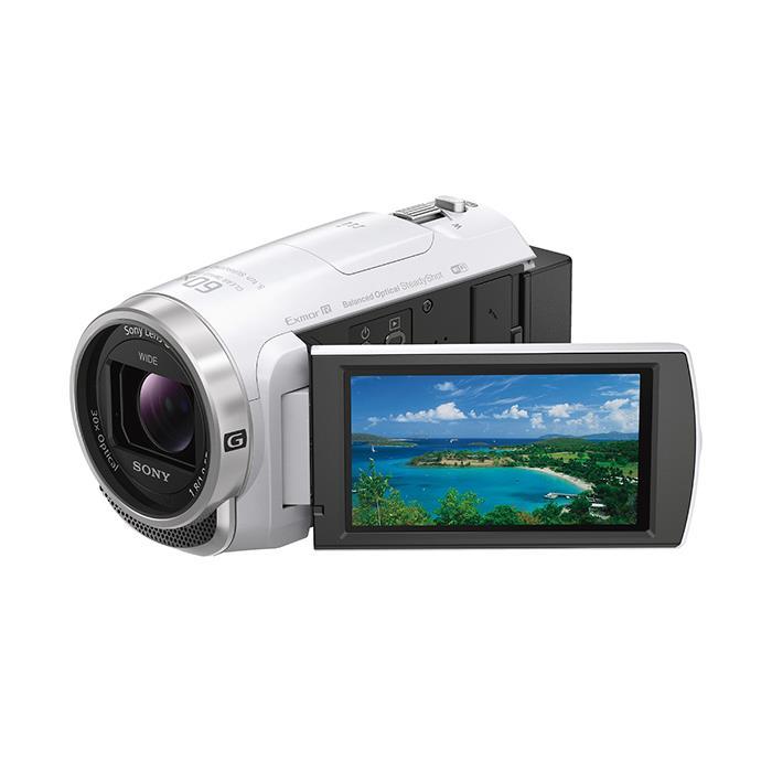 《新品》SONY (ソニー) デジタルHDビデオカメラレコーダー HDR-CX680 W ホワイト[ ビデオカメラ ] 【KK9N0D18P】