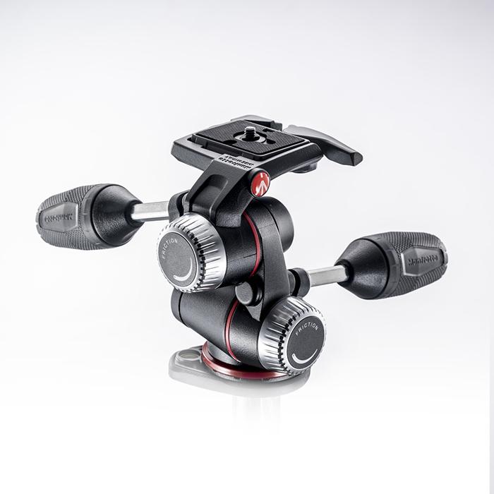 《新品アクセサリー》 Manfrotto X-PRO3ウェイ雲台 クイックプレート付き MHXPRO-3W【KK9N0D18P】