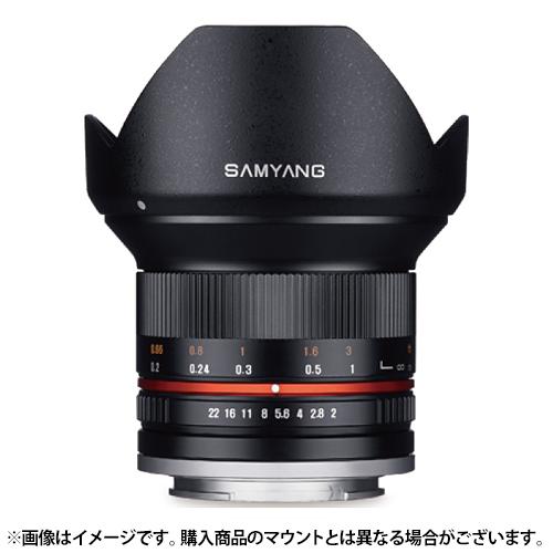 【新品】 SAMYANG(サムヤン) 12mm F2.0 NCS CS (フジX用) ブラック[ Lens | 交換レンズ ]【KK9N0D18P】【¥3,000-キャッシュバック対象】