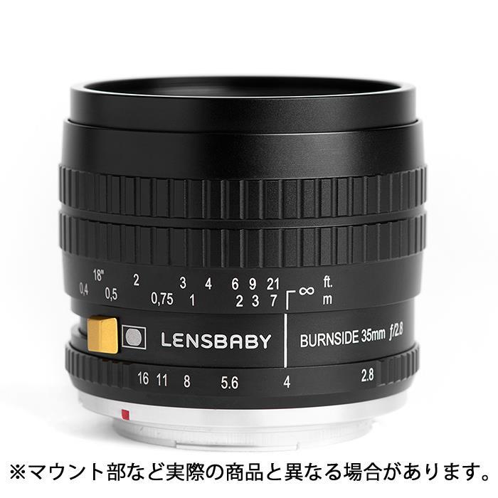 《新品》 Lensbaby (レンズベビー) Burnside 35 35mm F2.8(キヤノンEF用)【期間限定ハイテク レンズクロス Mサイズ プレゼント(8/31まで)[ Lens | 交換レンズ ]【KK9N0D18P】