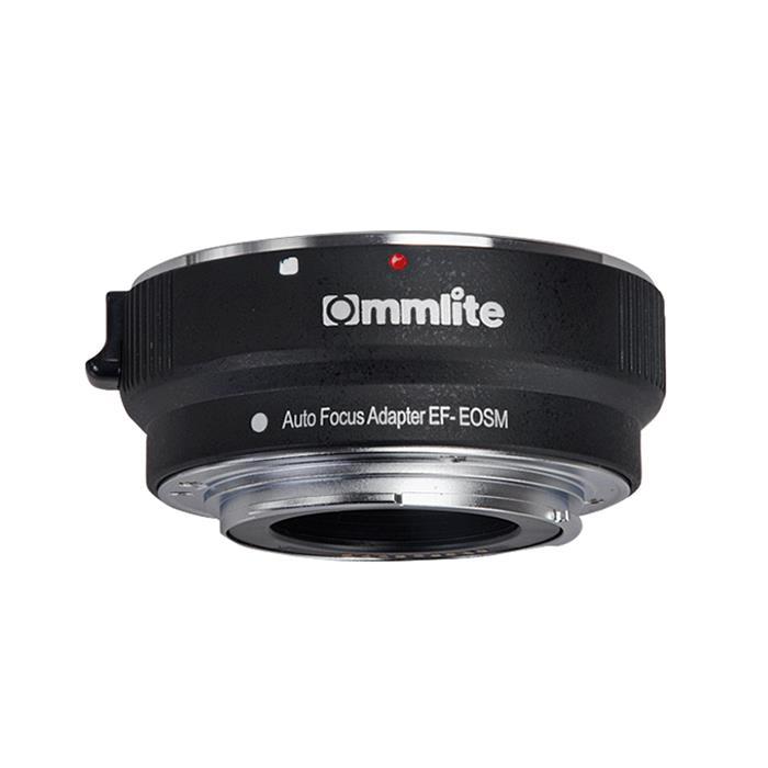 《新品アクセサリー》 Commlite(コムライト) マウントアダプター キヤノンEF/EOS M用 AF 電子接点付 CM-EF-EOSM【KK9N0D18P】