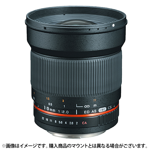 《新品》 SAMYANG(サムヤン) 16mm F2.0 ED AS UMC CS (EOS M用)〔メーカー取寄品〕[ Lens | 交換レンズ ]【KK9N0D18P】