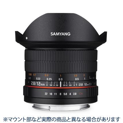 《新品》 SAMYANG (サムヤン) 12mm F2.8 ED AS NCS Fisheye (ペンタックス用) [ Lens | 交換レンズ ]【KK9N0D18P】【¥3,000-キャッシュバック対象】