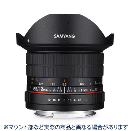 《新品》 SAMYANG (サムヤン) 12mm F2.8 ED AS NCS Fisheye (マイクロフォーサーズ用) 〔メーカー取寄品〕[ Lens | 交換レンズ ]【KK9N0D18P】