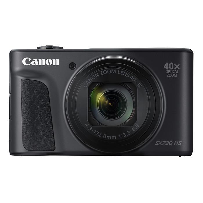 《新品》 Canon(キヤノン) PowerShot SX730 HS ブラック[ コンパクトデジタルカメラ ]【KK9N0D18P】
