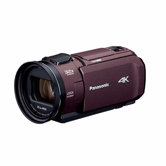 《新品》Panasonic (パナソニック) デジタル4Kビデオカメラ HC-VX1M ブラウン【KK9N0D18P】