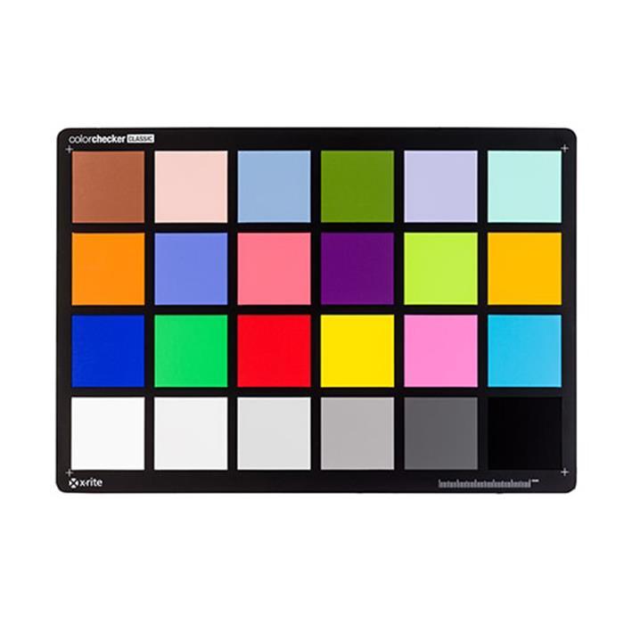 《新品アクセサリー》X-Rite (エックスライト) ColorChecker クラシック(ColorChecker 24)【KK9N0D18P】