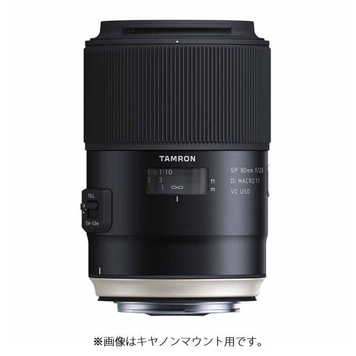 《新品》 TAMRON (タムロン) SP 90mm F2.8 Di MACRO 1:1 USD/Model F017S(ソニーα用)[ Lens | 交換レンズ ]【KK9N0D18P】
