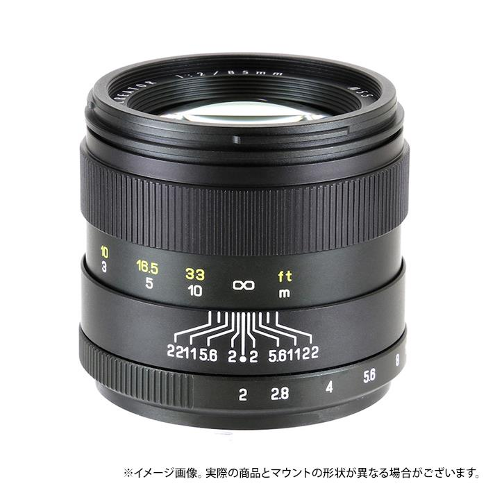 《新品》 ZHONG YI OPTICAL CREATOR 85mm F2 (ペンタックス用) ブラック[ Lens | 交換レンズ ] 【KK9N0D18P】〔メーカー取寄品〕
