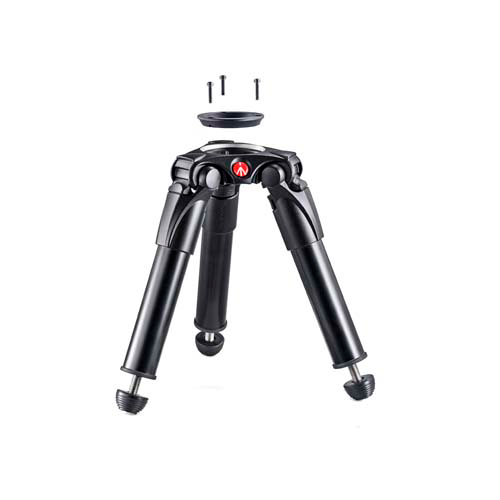 《新品アクセサリー》 Manfrotto(マンフロット) シングルレッグ HH アルミ ビデオ三脚 75/60mm MVT535HH〔メーカー取寄品〕【KK9N0D18P】