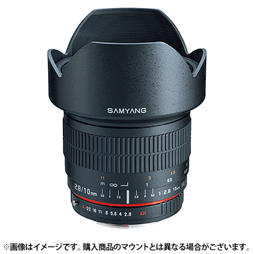 【新品】 SAMYANG(サムヤン) 10mm F2.8 ED AS NCS CS (フジX用)[ Lens   交換レンズ ]【KK9N0D18P】〔メーカー取寄品〕