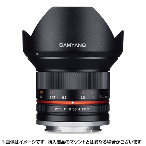 【新品】 SAMYANG(サムヤン) 12mm F2.0 NCS CS (ソニーE用) ブラック[ Lens | 交換レンズ ]【KK9N0D18P】【¥3,000-キャッシュバック対象】